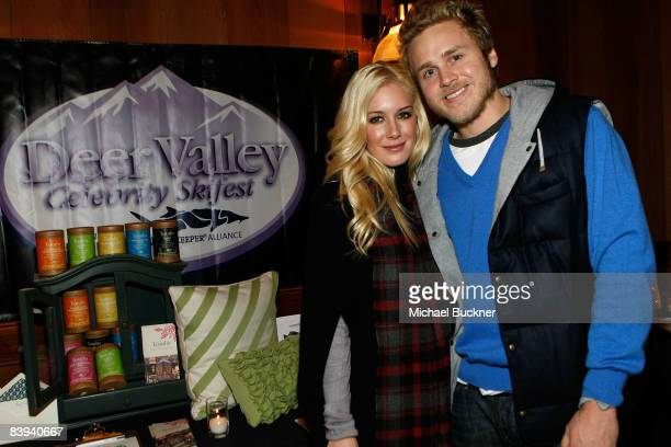 Heidi Montag and Spencer Pratt attend Juma Entertainment's 17th Annual Deer Valley Celebrity Skifest presented by Paul Mitchell and benefitting...
