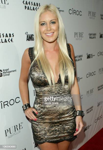 Heidi Montag attends a Halloween party at PURE Nightclub hosted by Heidi Montag on October 30 2010 in Las Vegas Nevada