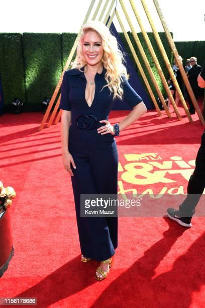 Heidi Montag attends the 2019 MTV Movie and TV Awards at Barker Hangar on June 15 2019 in Santa Monica California