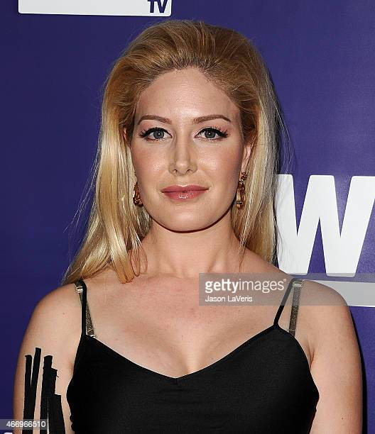 Heidi Montag attends 'The Evolution Of The Relationship Reality Show' at The Paley Center for Media on March 19 2015 in Beverly Hills California