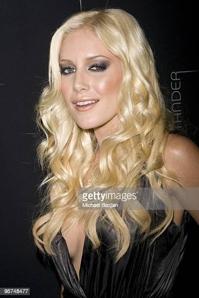 BEVERLY HILLS CA SEPTEMBER 18 Heidi Montag attends the Stander Launch Party at The Playboy Mansion on September 18 2009 in Beverly Hills California