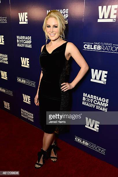 Heidi Montag attends WE tv's joint premiere party for 'Marriage Boot Camp Reality Stars' and 'David Tutera's CELEBrations' at 1 OAK on January 8 2015...