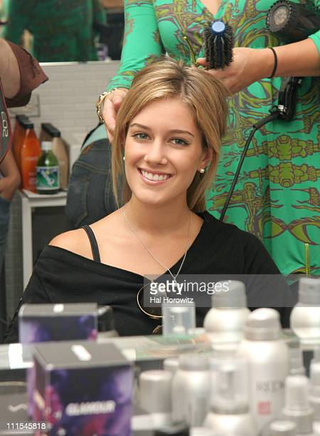 Heidi Montag during 2006 MTV Video Music Awards Glamour House of Glam Styling and Gifting Suite at Soho House at Soho House in New York City New York...