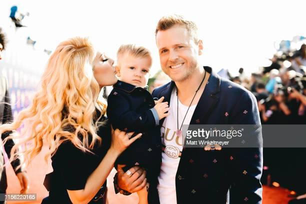 Heidi Montag Gunner Stone and Spencer Pratt attends the 2019 MTV Movie and TV Awards at Barker Hangar on June 15 2019 in Santa Monica California