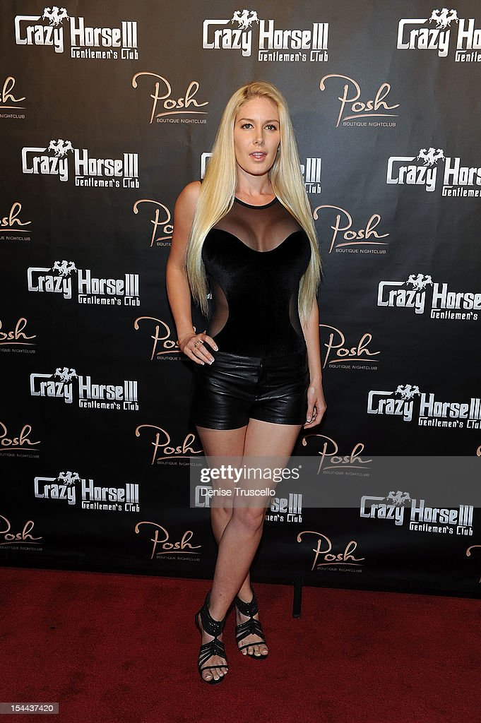Heidi Montag Hosts Crazy Horse III's Three Year Anniversary Party In Las Vegas : News Photo