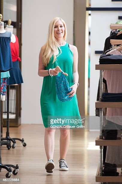 Heidi Montag is seen on July 28 2015 in Los Angeles California