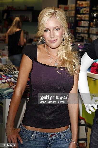 Heidi Montag stops by Kitson on Roberston Blvd on July 26 2008 in Beverly Hills California