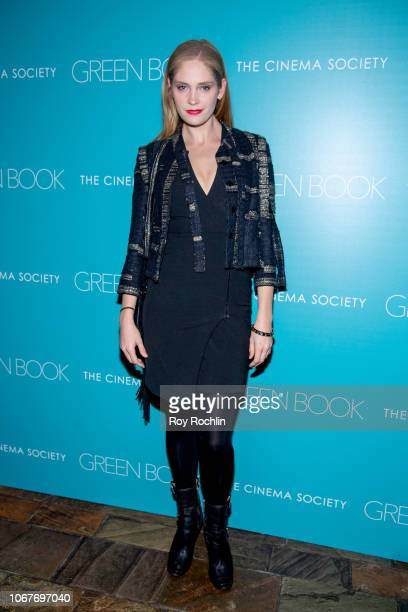 Heidi Mount attends the Green Book New York Special Screening hosted by the Cinema Society at The Roxy Hotel Cinema on November 14 2018 in New York...