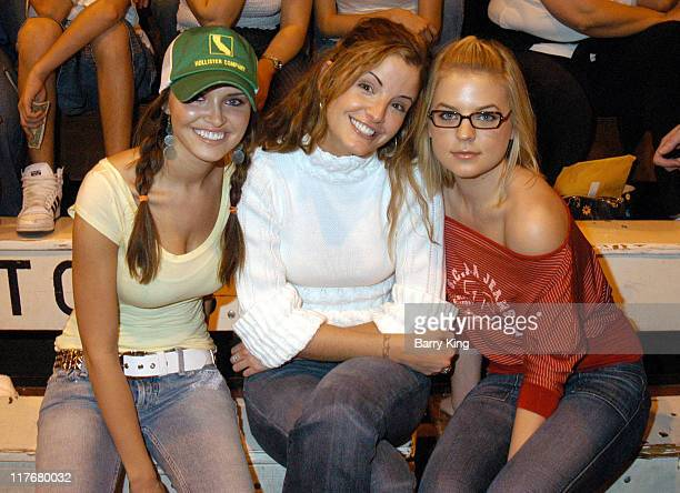 Heidi Mueller Alexis Thorpe and Kirsten Storms during Hollywood Knights Charity Basketball Game Burbank at Burbank High School in Burbank California...