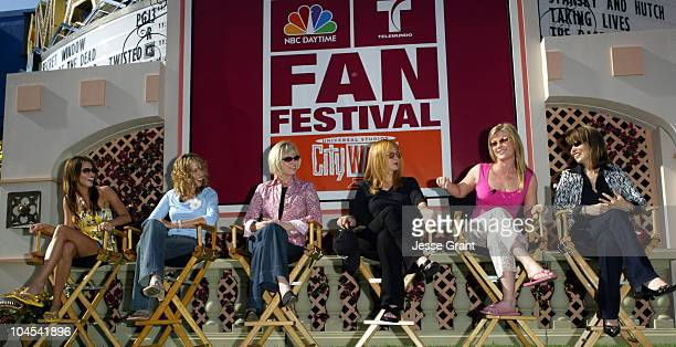 Heidi Mueller Arianne Zucker Kim Johnston Ulrich Andrea Evans and Lauren Koslow