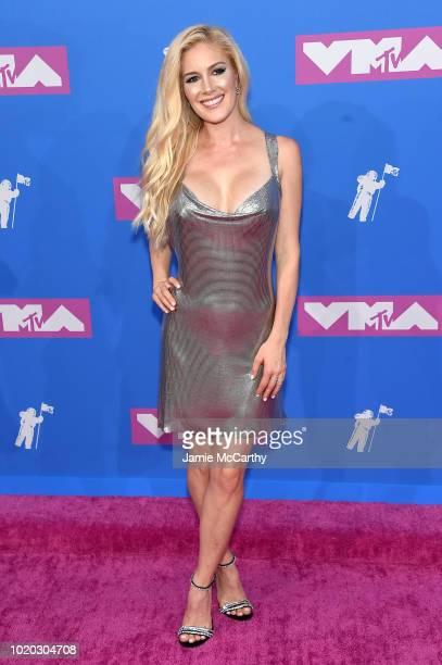 Heidi Pratt attends the 2018 MTV Video Music Awards at Radio City Music Hall on August 20 2018 in New York City