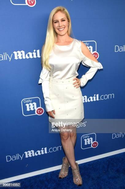 Heidi Pratt attends the DailyMailcom DailyMailTV Summer Party at Tom Tom on July 11 2018 in West Hollywood California