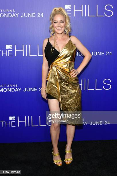 Heidi Pratt attends the premiere of MTV's The Hills New Beginnings at Liaison on June 19 2019 in Los Angeles California