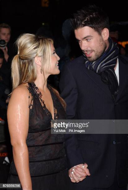 Heidi Range and Dave Berry arrive for the world charity premiere of Alfie at the Empire Leicester Square in central London in aid of MakeAWish...