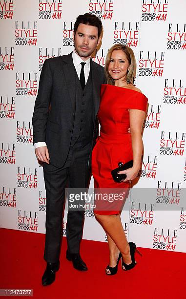 Heidi Range and Dave Berry attend the ELLE Style Awards 2009 held at Big Sky London Studios on February 9 2009 in London England
