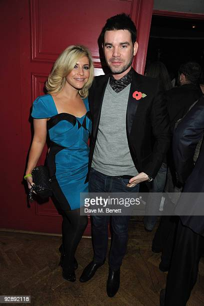 Heidi Range and Dave Berry attend the launch of Liam Gallaghers clothing line Pretty Green at the Gore Hotel on November 7 2009 in London England