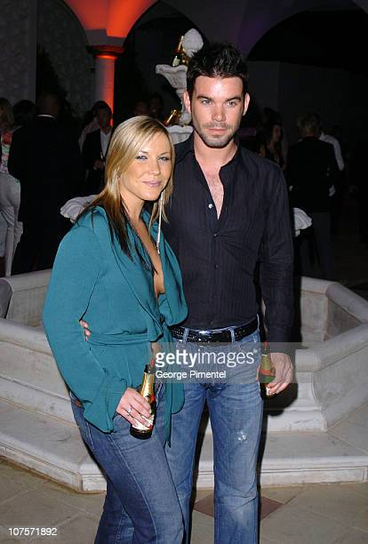 Heidi Range and Dave Berry during 2004 Cannes Film Festival MTV At The Movies Party