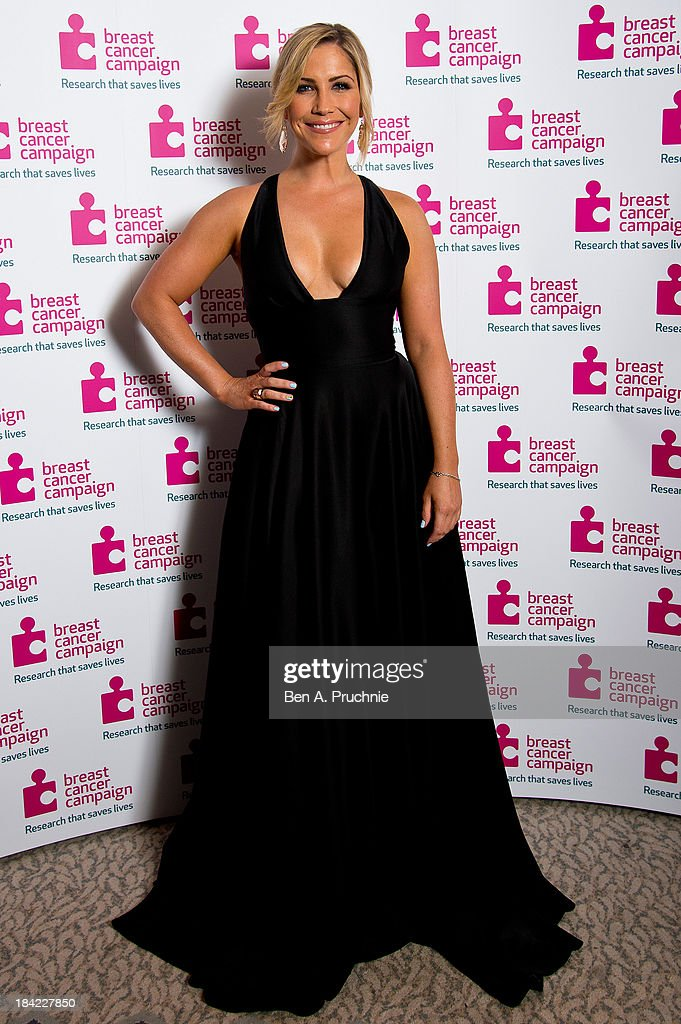 Heidi Range attends the Breast Cancer Campaign's Pink Ribbon Ball at The Dorchester on October 12, 2013 in London, England.