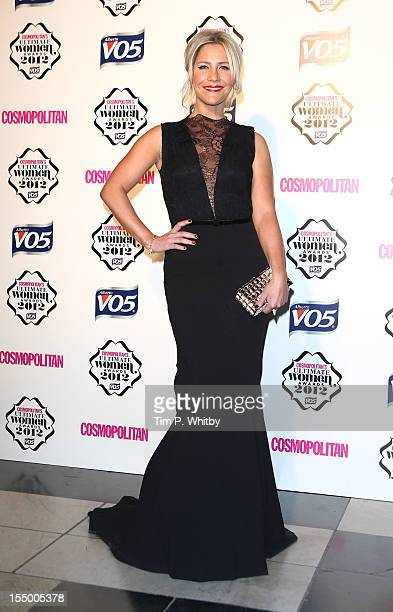 Heidi Range attends the Cosmopolitan Ultimate Woman of the Year awards at Victoria Albert Museum on October 30 2012 in London England