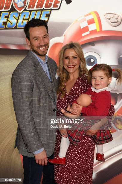 """Heidi Range attends the gala screening of """"Paw Patrol"""" at Cineworld Leicester Square on January 19, 2020 in London, England."""