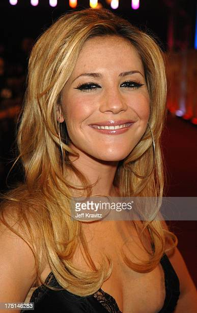 Heidi Range of Sugababes during 2006 MTV European Music Awards Copenhagen Red Carpet Arrivals at Bella Centre in Copenhagen Denmark