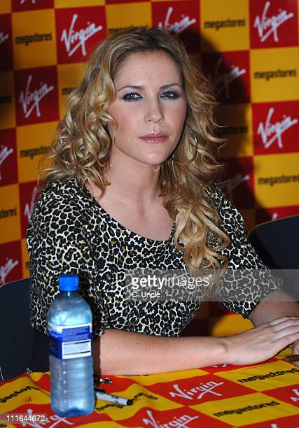 Heidi Range of Sugababes during Sugababes Signing and Instore Performance at Virgin Megastore in London November 13 2006 at Virgin Megastores in...