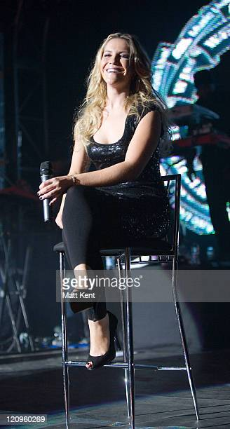 Heidi Range of The Sugababes during AOL'S Winter Warmer gig - November 29, 2006 at Forum in Kentish Town in London, London, Great Britain.