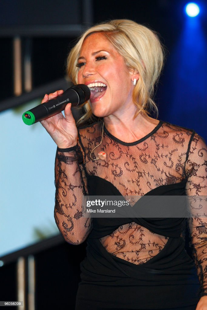 Heidi Range Of The Sugababes Performs At The Launch Party