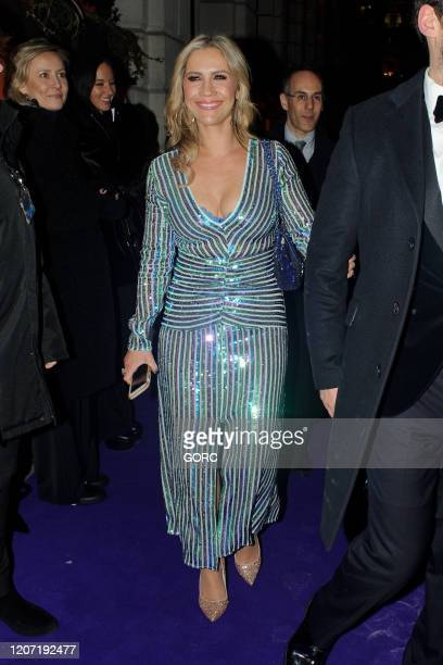 Heidi Range seen attending the BRIT Awards 2020 Universal afterparty at the Ned hotel on February 18 2020 in London England