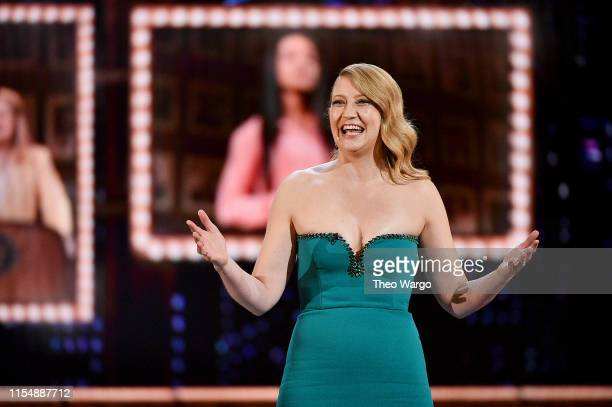 Heidi Schreck speaks onstage during the 2019 Tony Awards at Radio City Music Hall on June 9, 2019 in New York City.