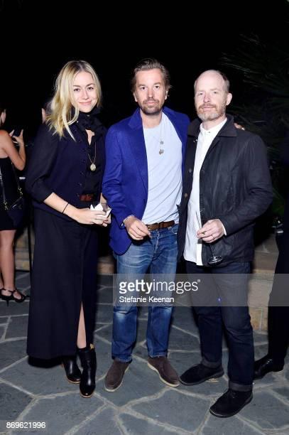 Heidi Smith Friedrich Kunath and Michael Schmelling attend GQ Style Hugo Boss celebrate Amazing Spaces with Edgar Ramirez at John Lautner's Harvey...