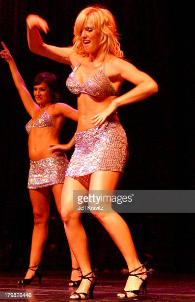 Heidi Strobel during Reality Revue Burlesque Show August 7 2004 at Xanadu Showroom Trump Taj Majal in Atlantic City New Jersey United States