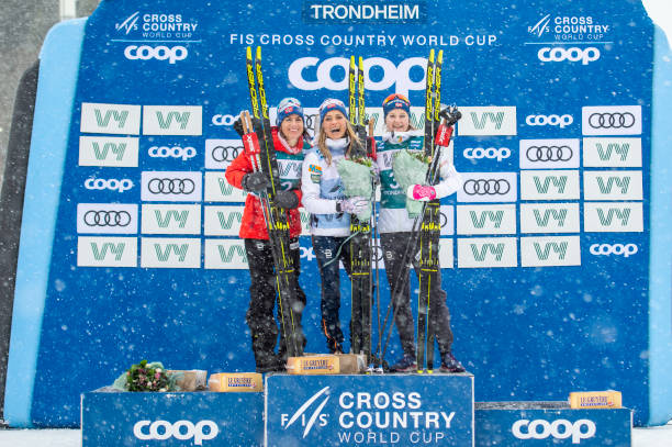 NOR: FIS Cross-Country World Cup Trondheim - Women's 15 km C Pursuit