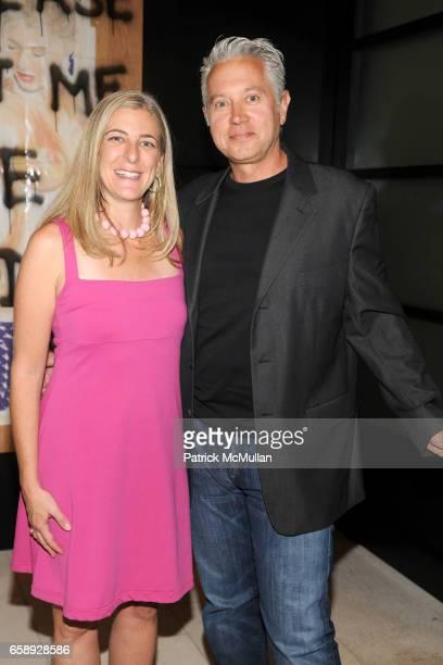 Heidi Zuckerman Jacobson and Danny Holtz attend AMY JOHN PHELAN host wineCRUSH 2009 for the ASPEN ART MUSEUM at Phelan Residence on August 5 2009 in...