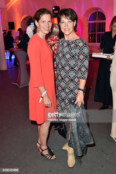 Heidrun Gaertner and Janina Hartwig during the Audi Director's Cut during the Munich Film Festival 2016 at Praterinsel on June 25 2016 in Munich...