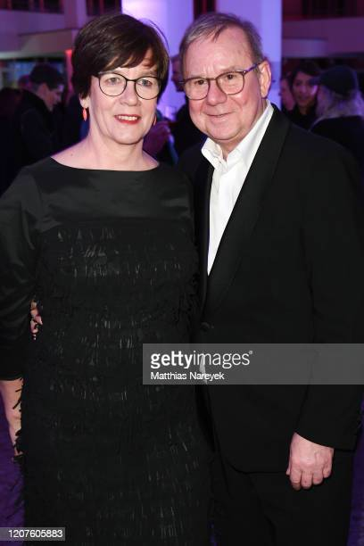 Heidrun Teusner Krol and Joachim Krol attend the opening party during the 70th Berlinale International Film Festival Berlin at Kulturforum on...