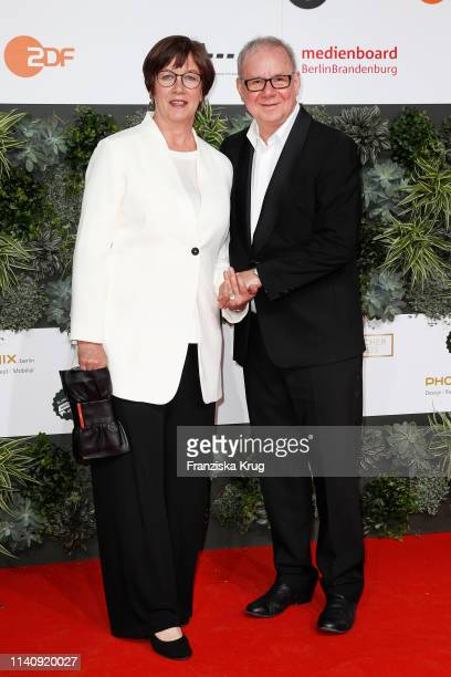 Heidrun TeusnerKrol and Joachim Krolduring the Lola German Film Award red carpet at Palais am Funkturm on May 3 2019 in Berlin Germany