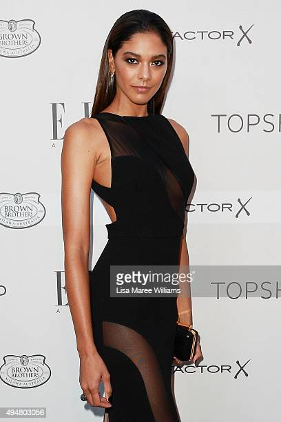 Heidy De La Rosa arrives ahead of the ELLE Style Awards at The Mint on October 29 2015 in Sydney Australia