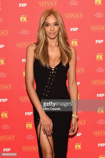 Heidy De la Rosa attends The Assassination Of Gianni Versace American Crime Story New York Screening at Metrograph on December 11 2017 in New York...