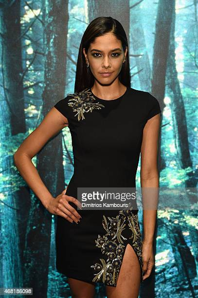 Heidy De la Rosa attends the DSQUARED2 celebration of New York Flagship Opening on March 30 2015 in New York City