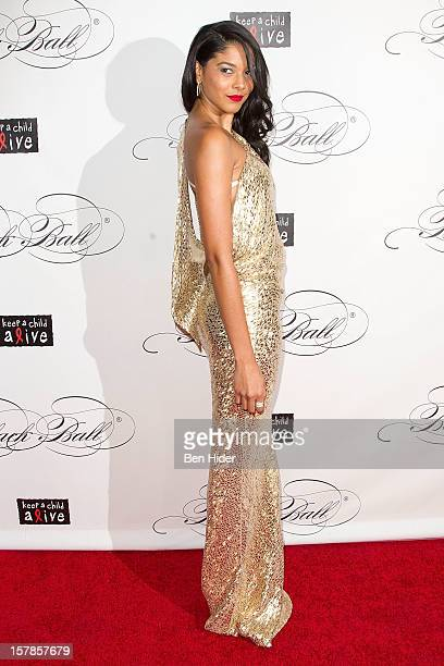 Heidy De La Rosa attends the Keep A Child Alive's Black Ball Redux 2012 at The Apollo Theater on December 6 2012 in New York City