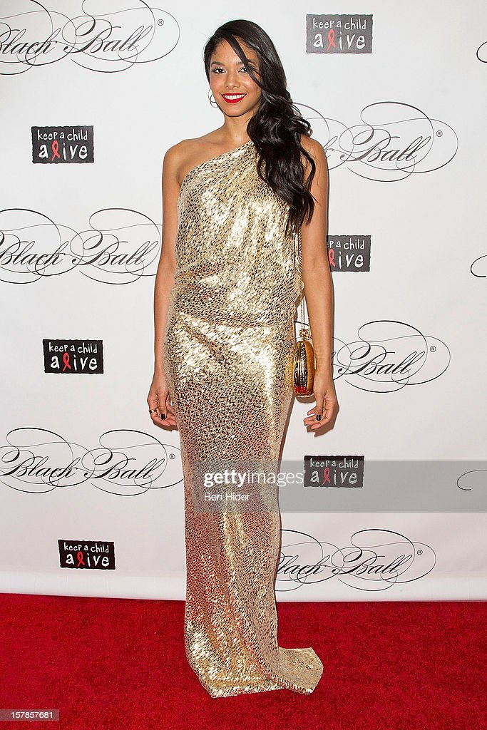 Heidy De La Rosa attends the Keep A Child Alive's Black Ball Redux 2012 at The Apollo Theater on December 6, 2012 in New York City.