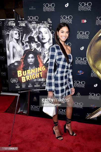 Heidy De la Rosa attends the premiere of 'Burning Bright' at Village East Cinema during the Soho Film Festival on June 21 2019 in New York City