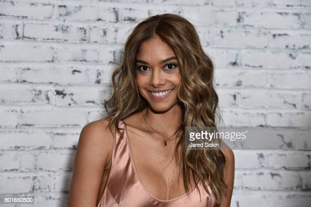 Heidy De La Rosa attends TriStar Pictures with The Cinema Society Avion host the after party for Baby Driver at The Crown at Hotel 50 Bowery on June...