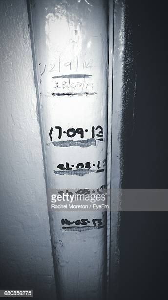 Height Chart On Wall