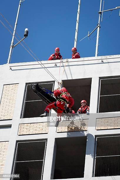 Height rescue squad - Feuerwehr Wiesbaden