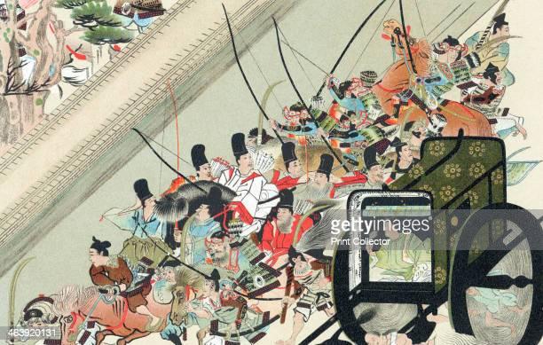 Heiji Rebellion Japan 1159 The abduction of the former Emperor GoShirakawa by Fusiwara No Nobuyori GoShirakawa was later freed and Nobuyori killed by...