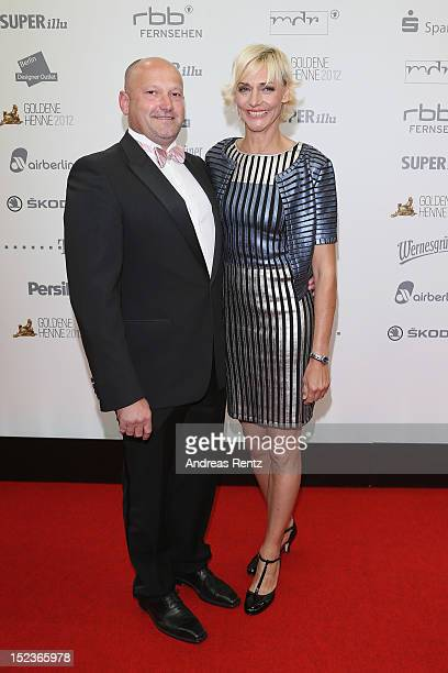 Heike Drechsler and Steffen Fichtner attend for the 'Goldene Henne' 2012 award on September 19 2012 in Berlin Germany