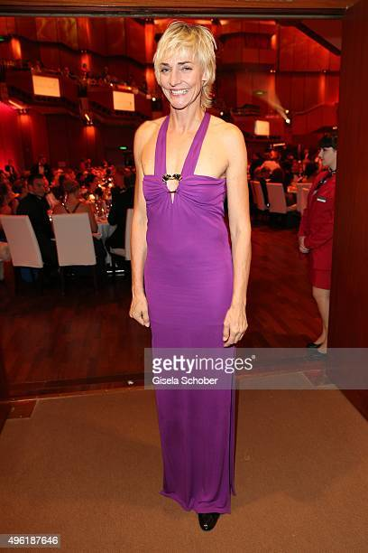 Heike Drechsler during the German Sports Media Ball at Alte Oper on November 7 2015 in Frankfurt am Main Germany