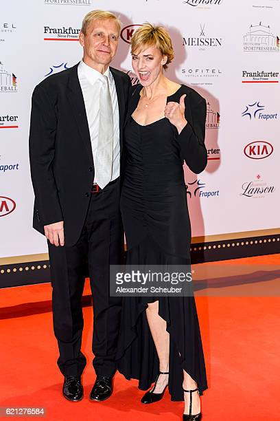 Heike Drechsler pose during the German Sports Media Ball at Alte Oper on November 5 2016 in Frankfurt am Main Germany